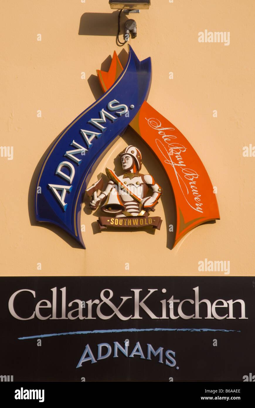 Adnams cellar u0026 kitchen shop store sign in HarlestonNorfolkUk & Adnams cellar u0026 kitchen shop store sign in HarlestonNorfolkUk ...
