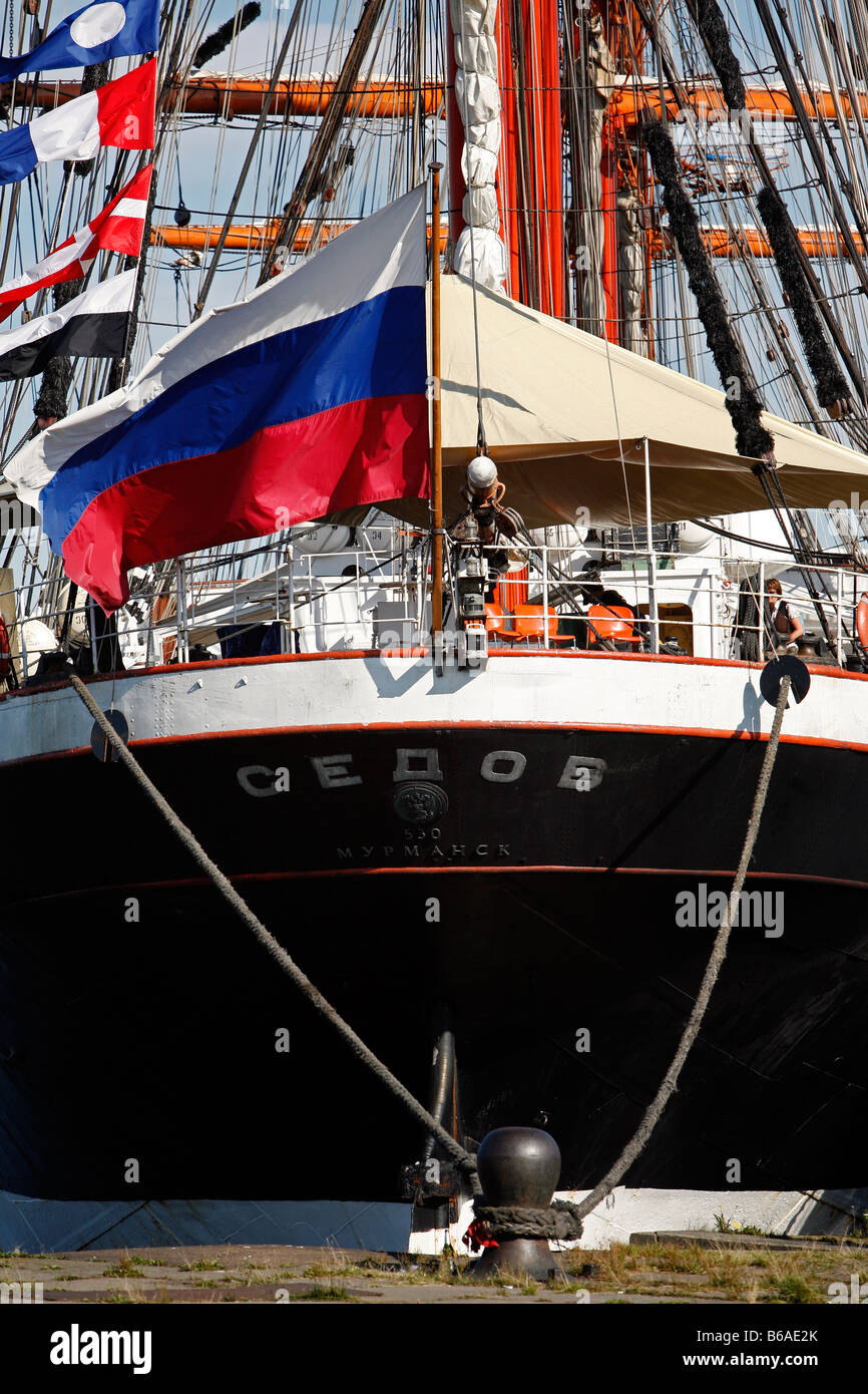 Sail tall ship meeting, Bremerhaven, northern Germany - Stock Image