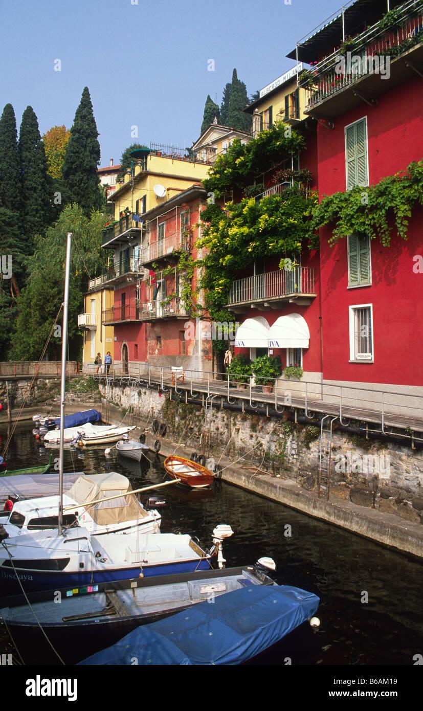 Varenna, Lombardy, Italy. - Stock Image