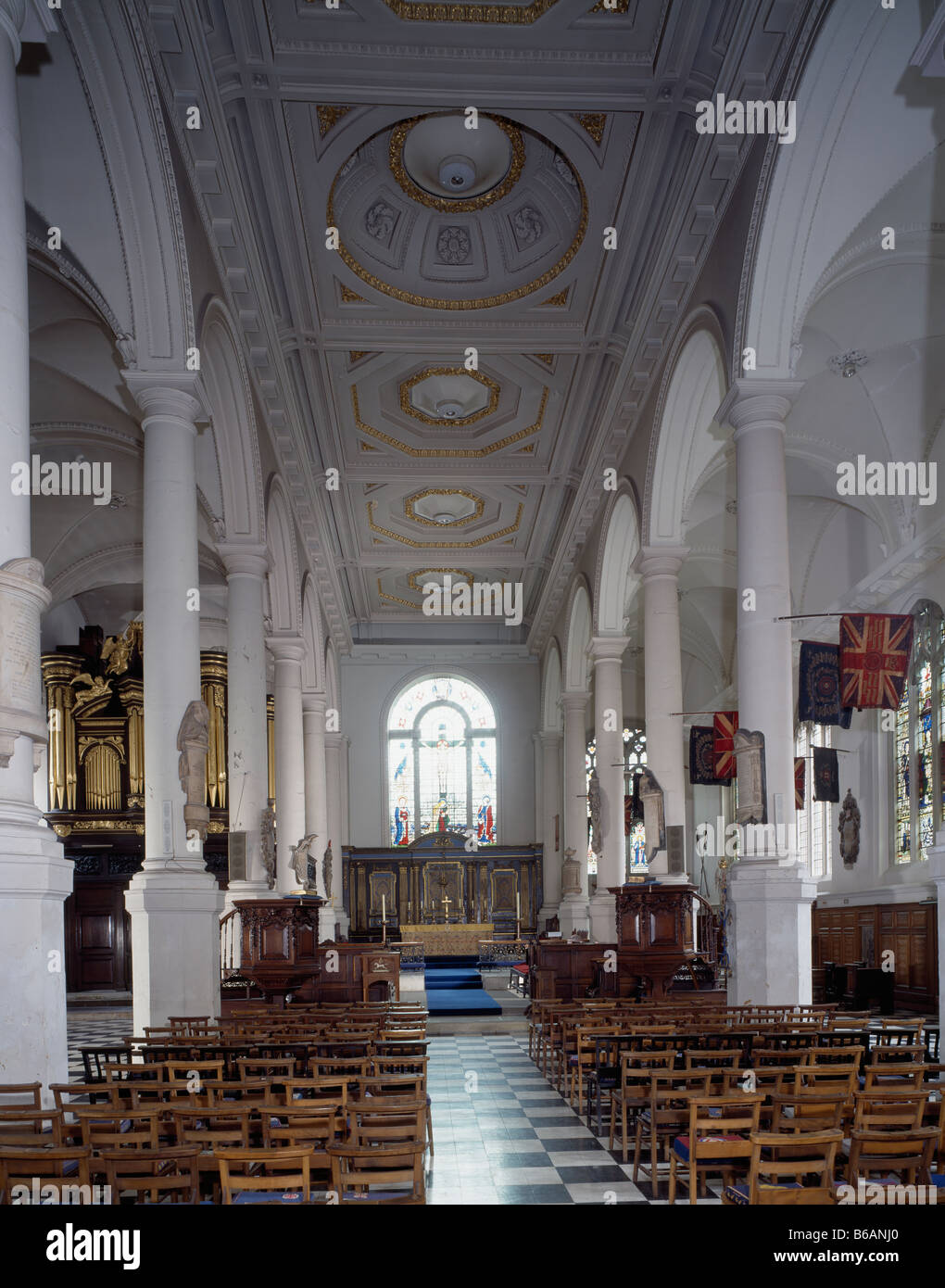 St Sepulchre Without Newgate - Stock Image