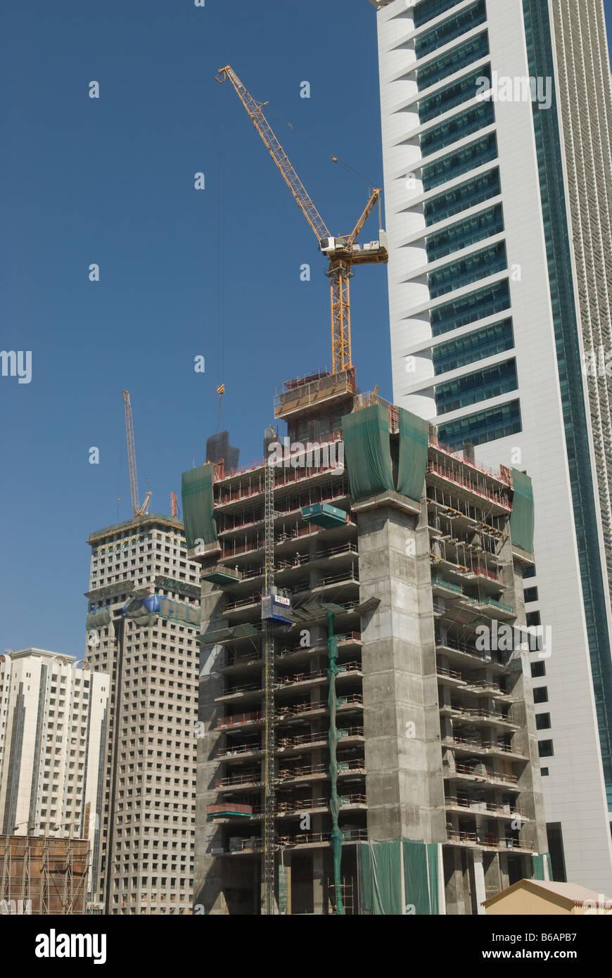 Construction site in Dubai. Stock Photo