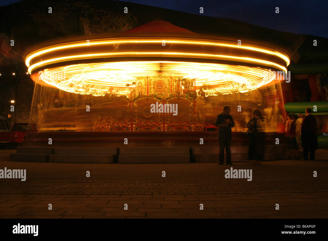 UFO or Carousel - Stock Image