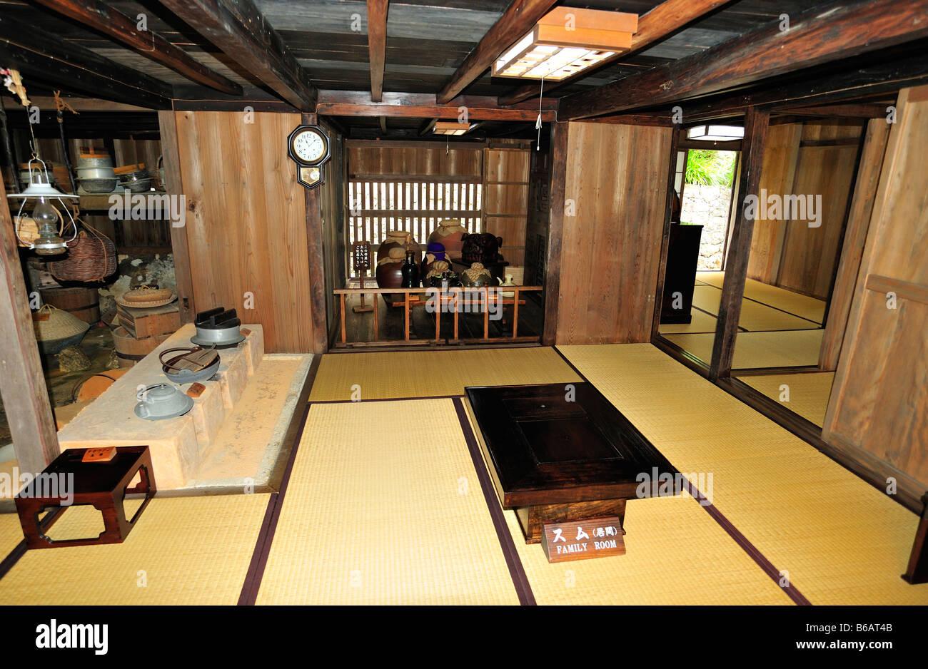 nakamura house, nakagusuku, nakagami district, okinawa, japan - Stock Image