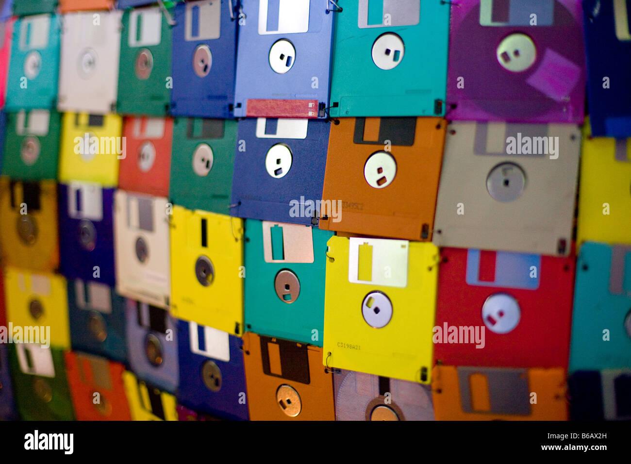 Wall of disks 61