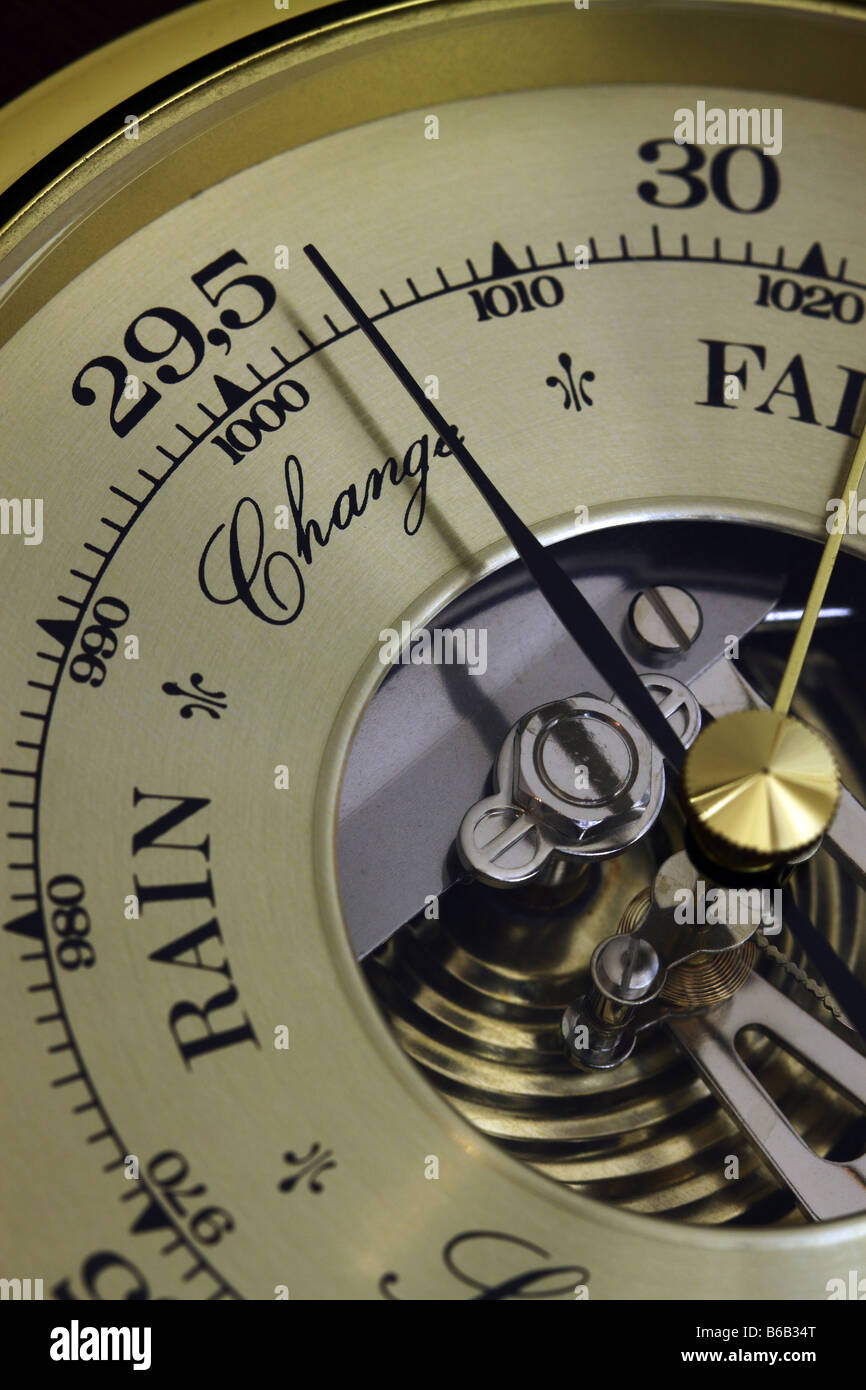 Close up of A Barometer - Stock Image