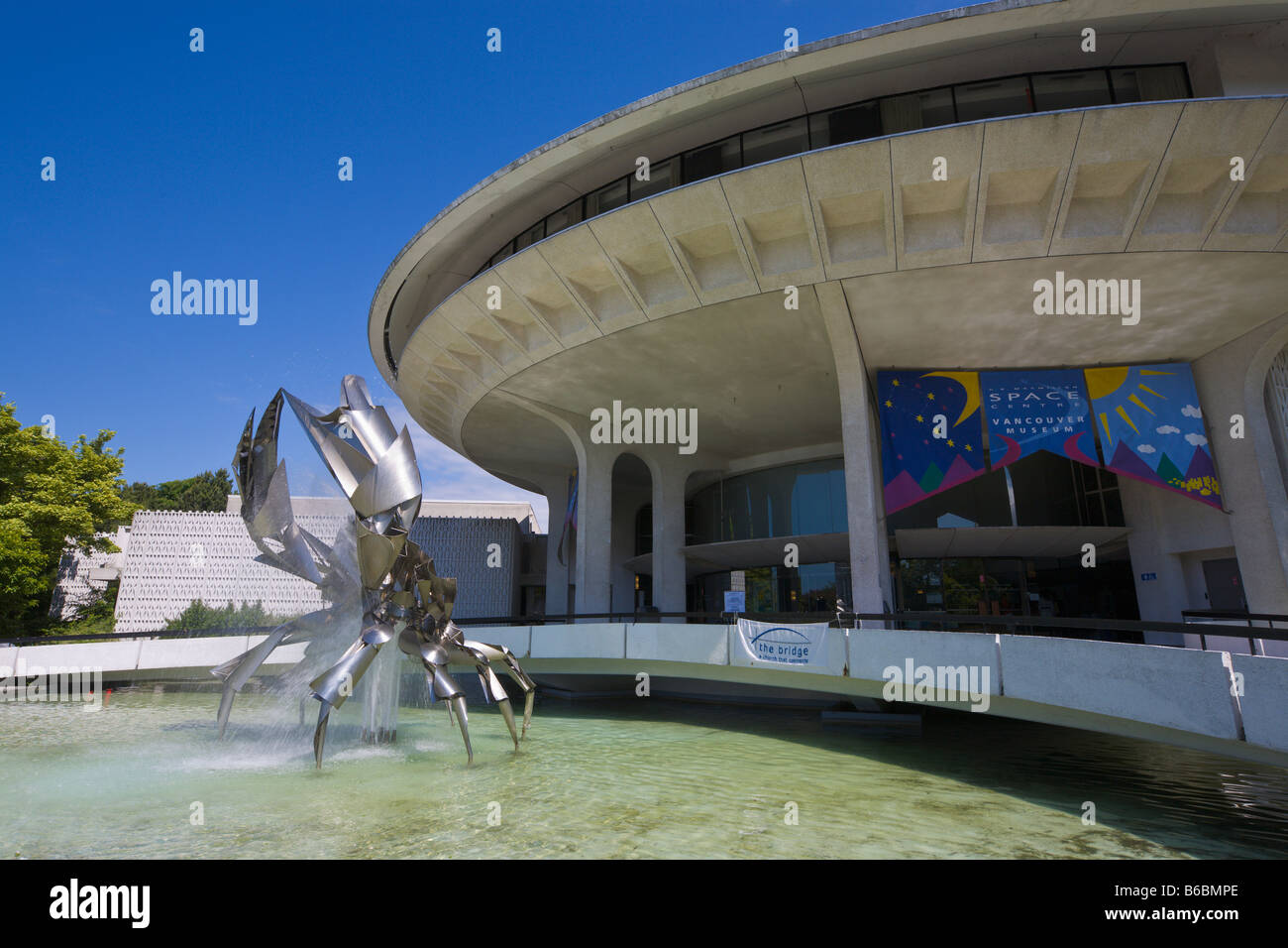 Vancouver Museum and Planetarium Vancouver 'British Columbia' Canada - Stock Image