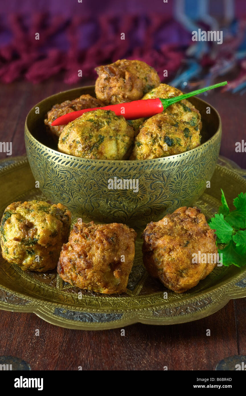 Onion bhaji india food stock photo 21157933 alamy onion bhaji india food forumfinder Gallery