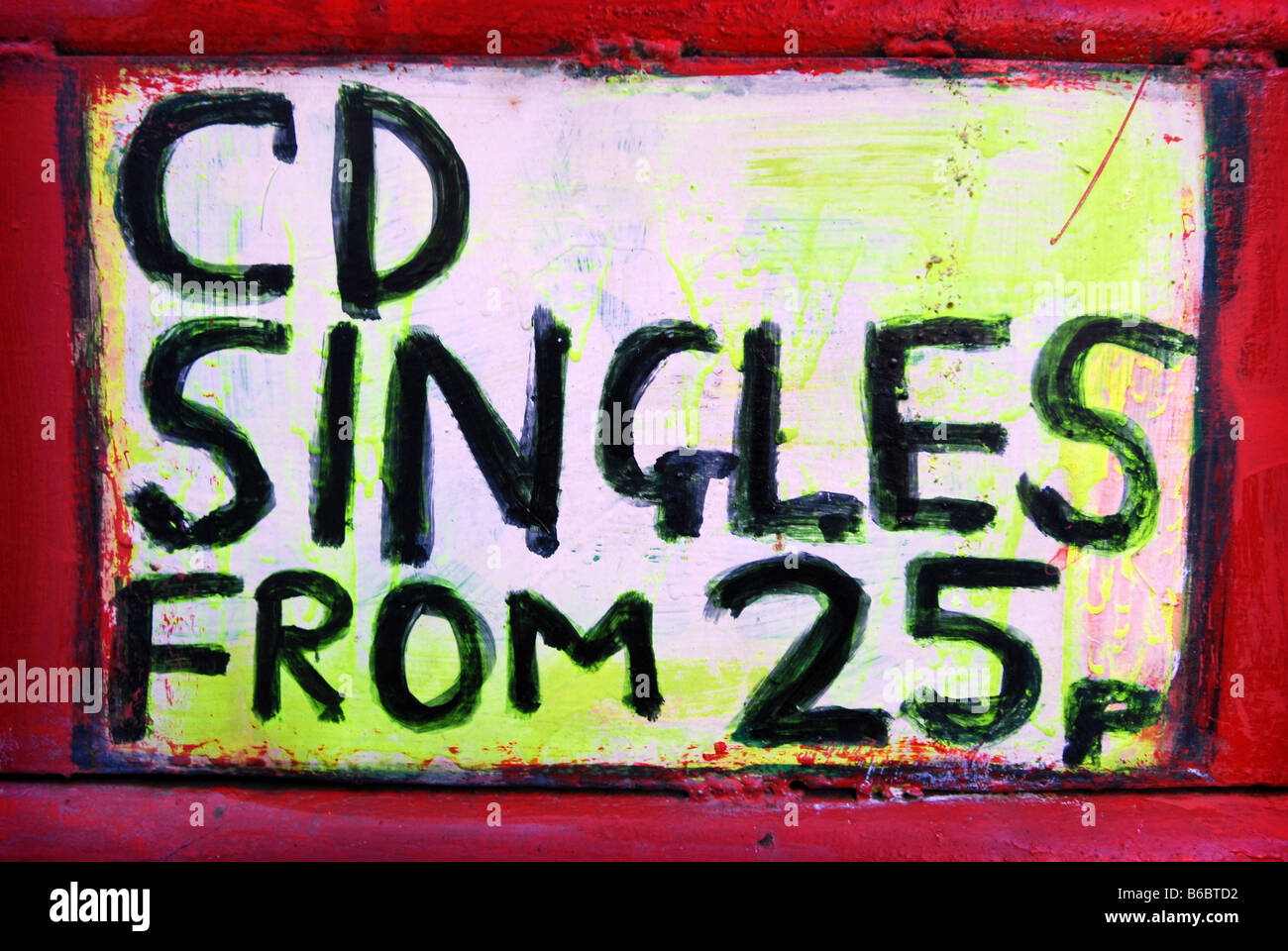 CD Singles - Stock Image