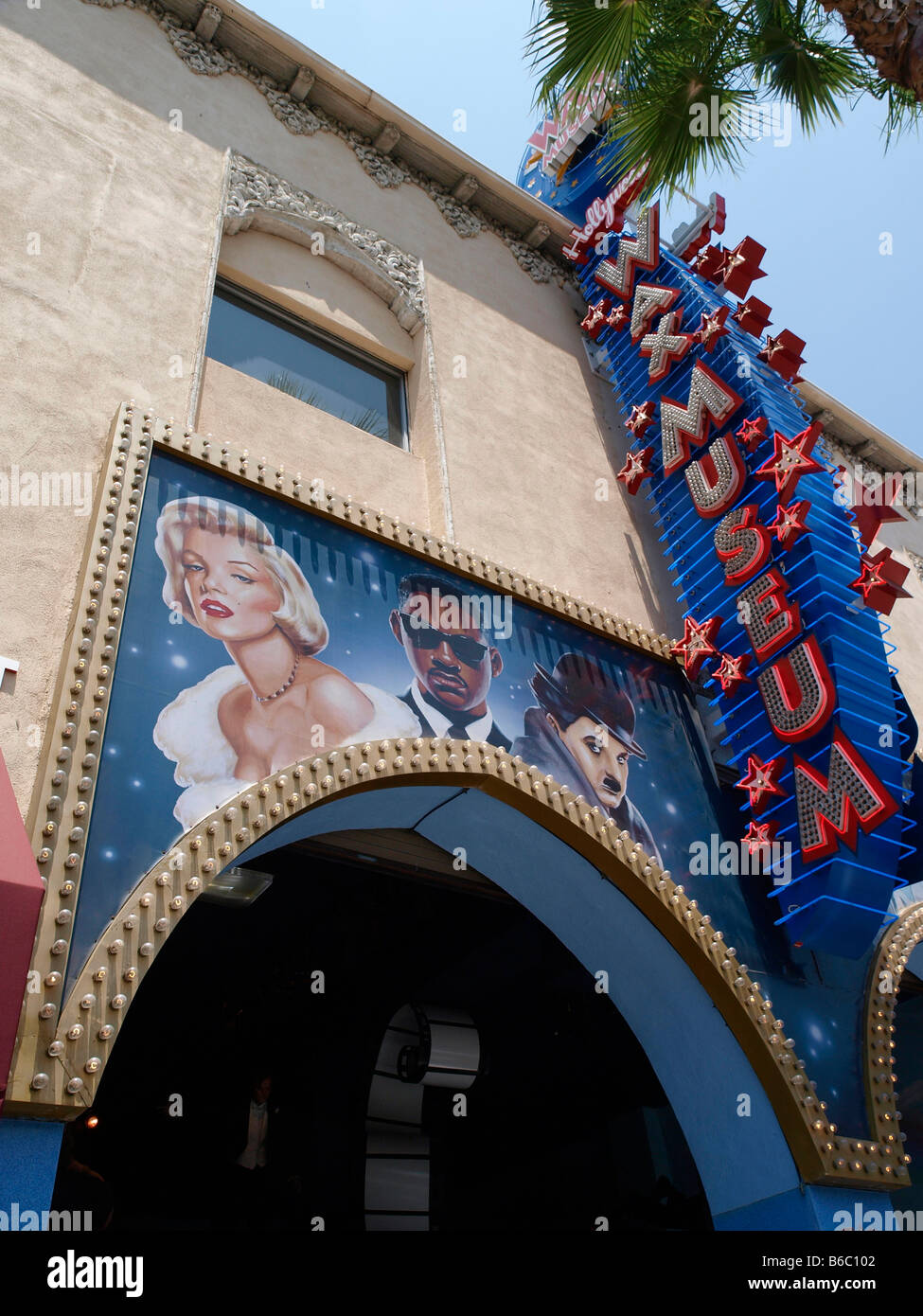 Hollywood Wax Museum‎ 6767 Hollywood Blvd, Los Angeles - Stock Image