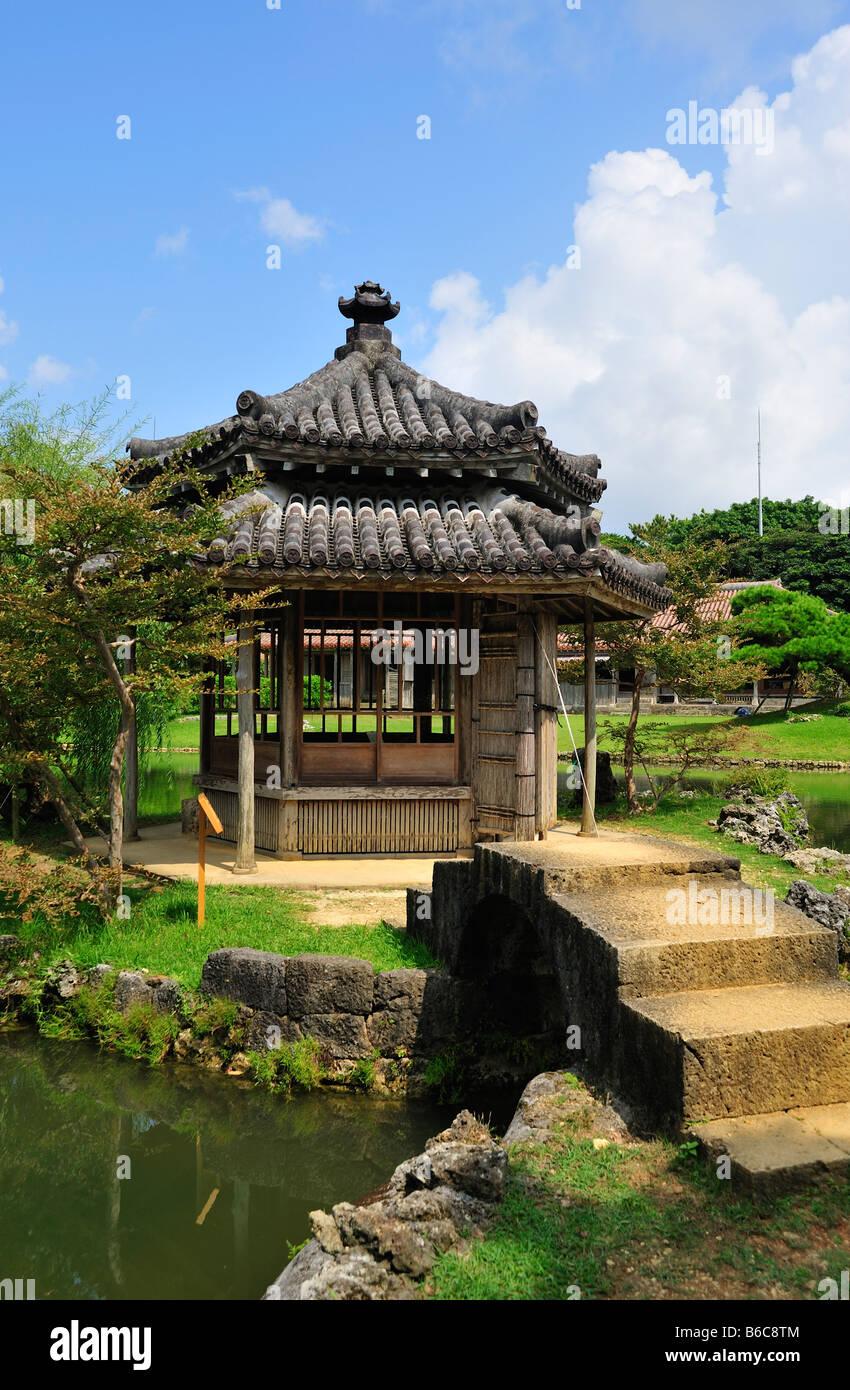 shikinaen, shuri, naha, okinawa, japan - Stock Image
