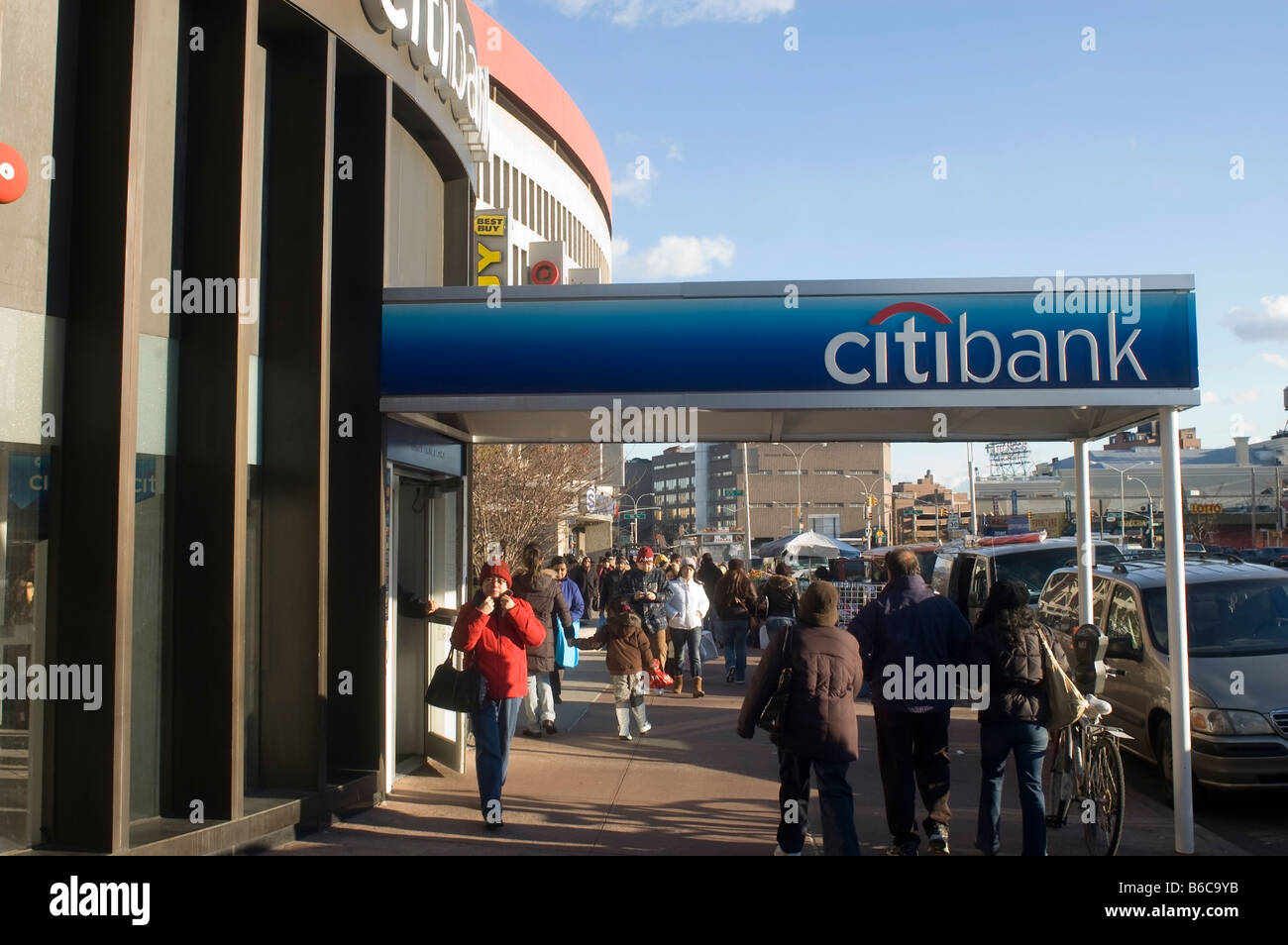 A Citibank Stock Photos Images Alamy Wiring Instructions For Branch Is Seen In The New York Borough Of Queens Image
