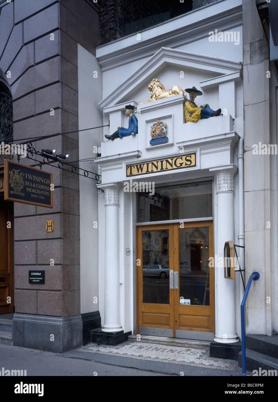 House of Twining - Stock Image