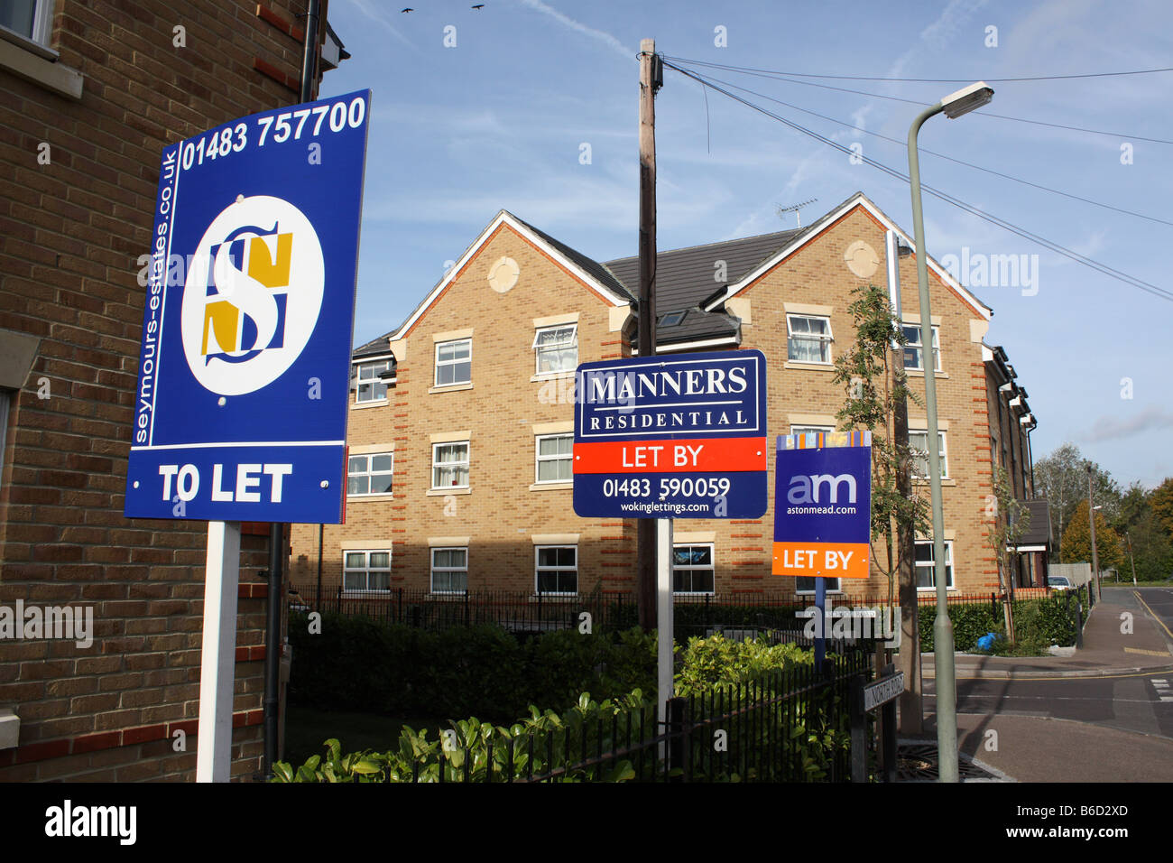 Booming Lettings Market - Stock Image