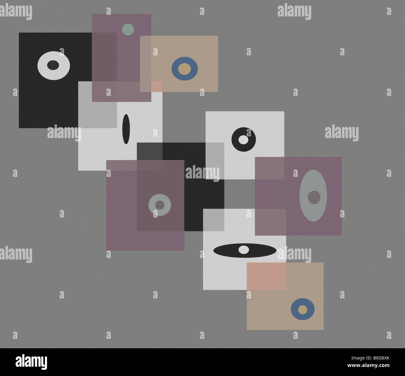 Conceptual Abstract Art - Stock Image