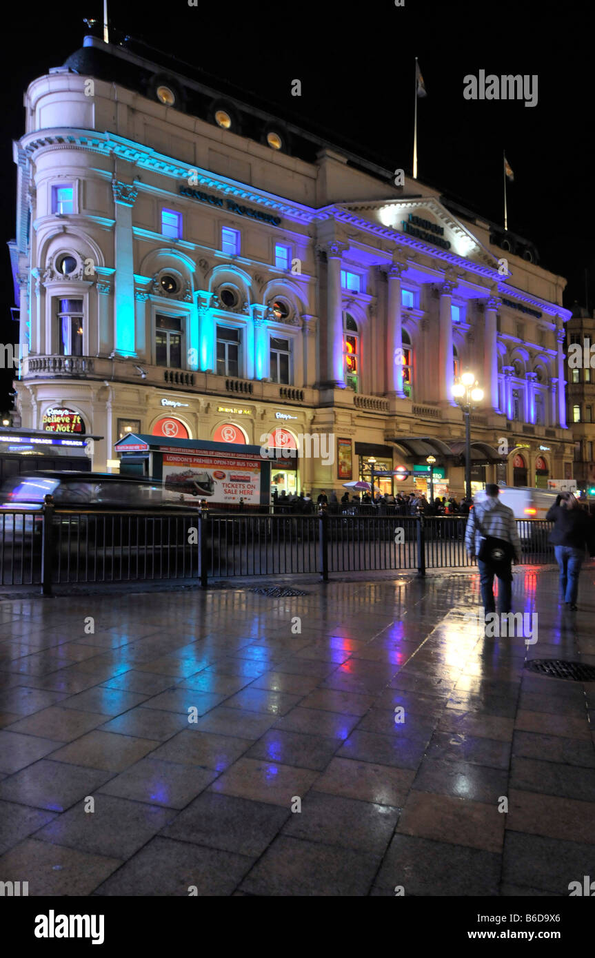 London Trocadero entertainment and shopping complex - Stock Image