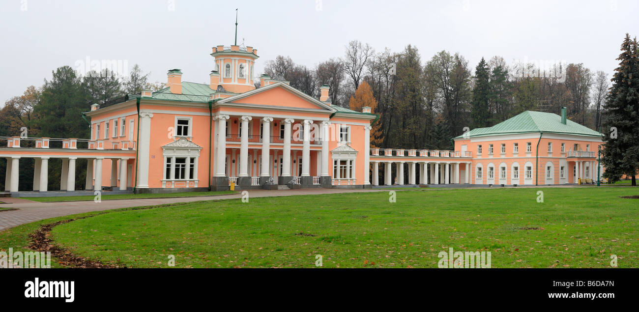 18th century estate, Valuevo, Moscow region, Russia Stock Photo
