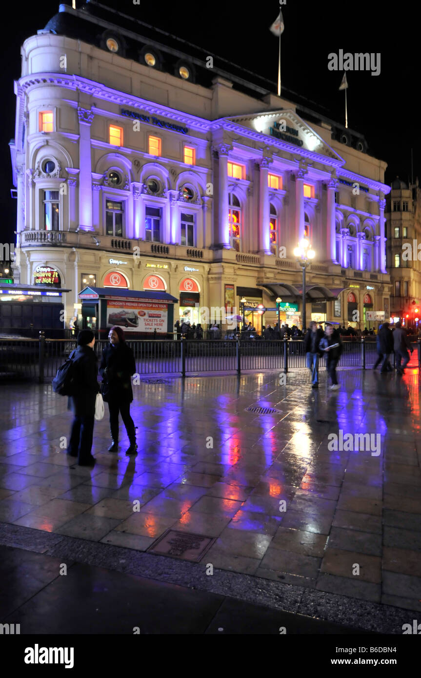 London Ripleys Trocadero entertainment and shopping complex - Stock Image