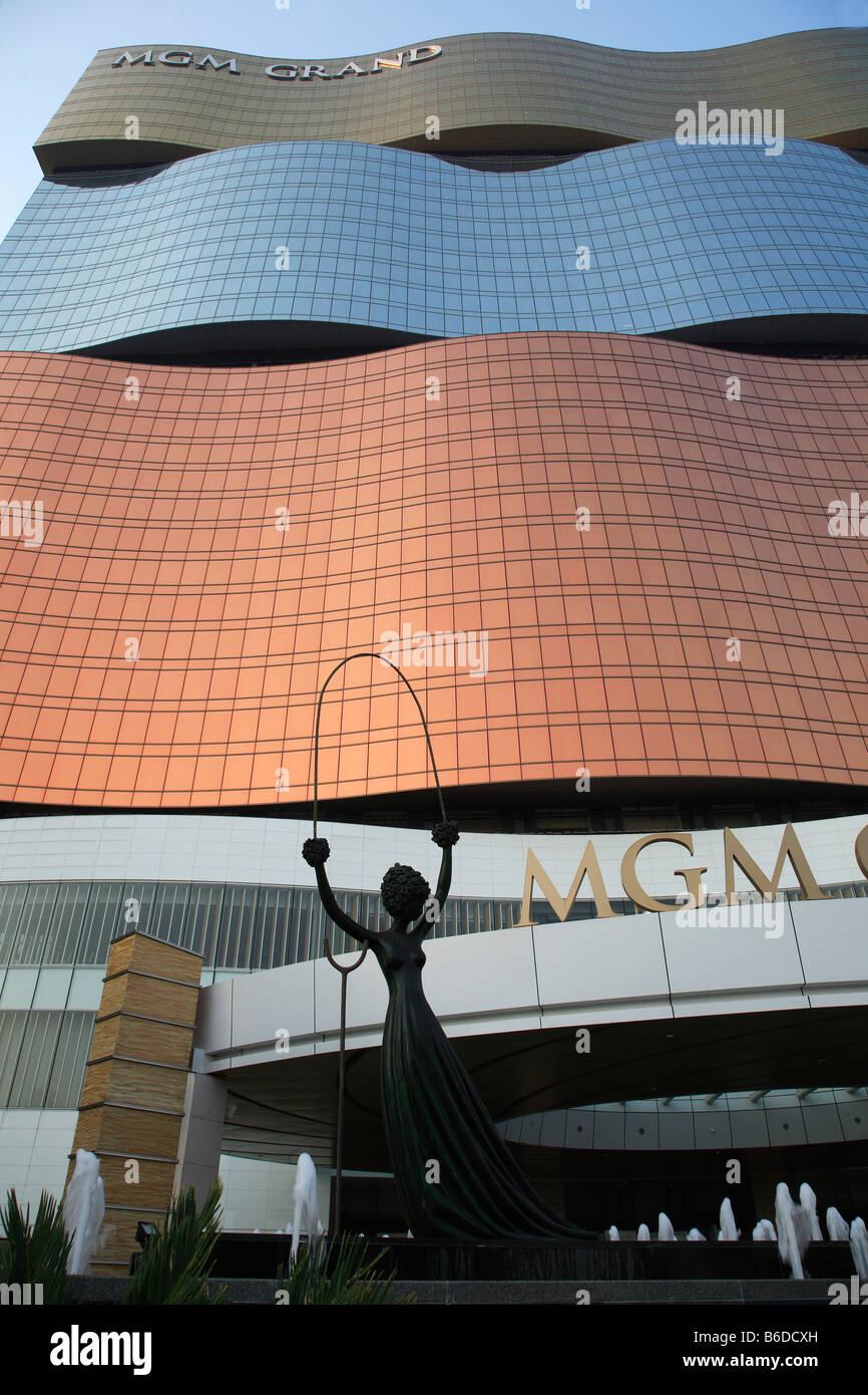 China Macau MGM Grand Casino Alice in Wonderland statue by Salvador Dali - Stock Image