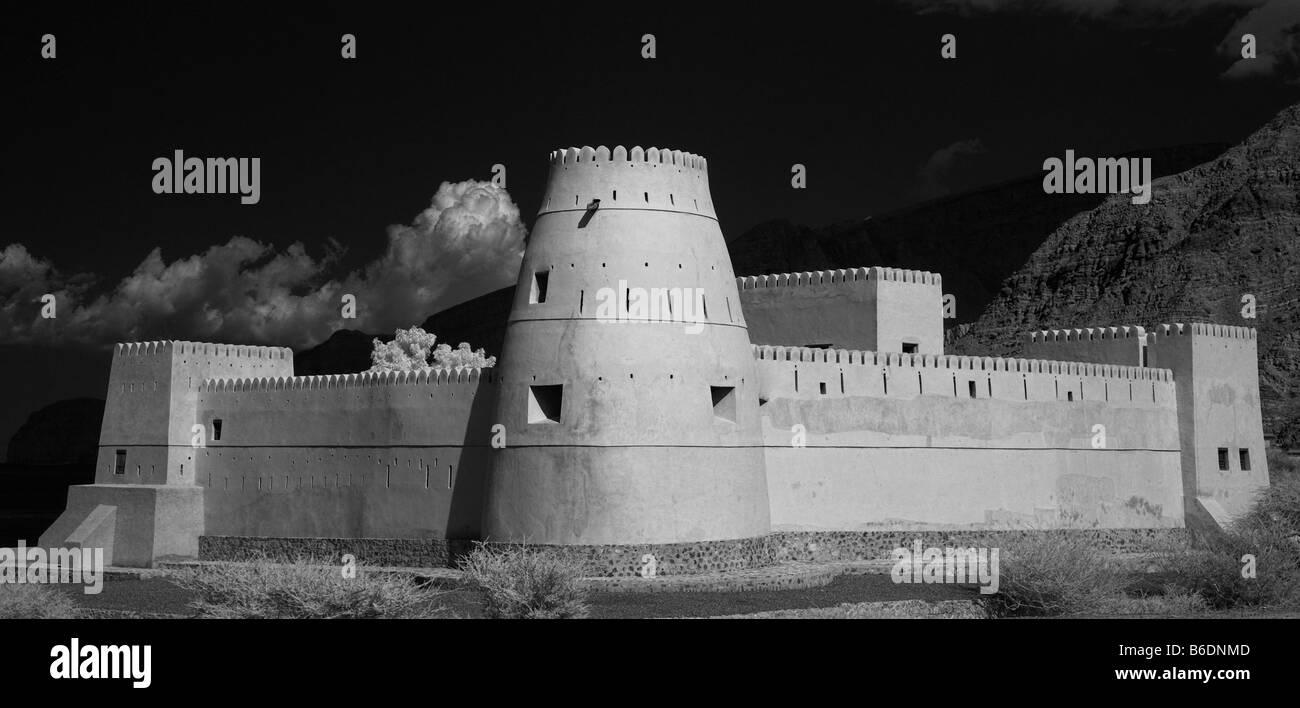 Bukha Fort Musandam Oman Stock Photo