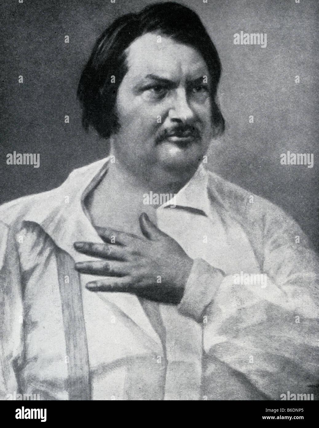 Honore de balzac 1799 1850 french novelist