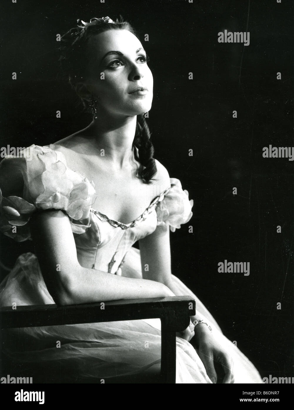 CLAIRE BLOOM as Ophelia in 1948 - Stock Image