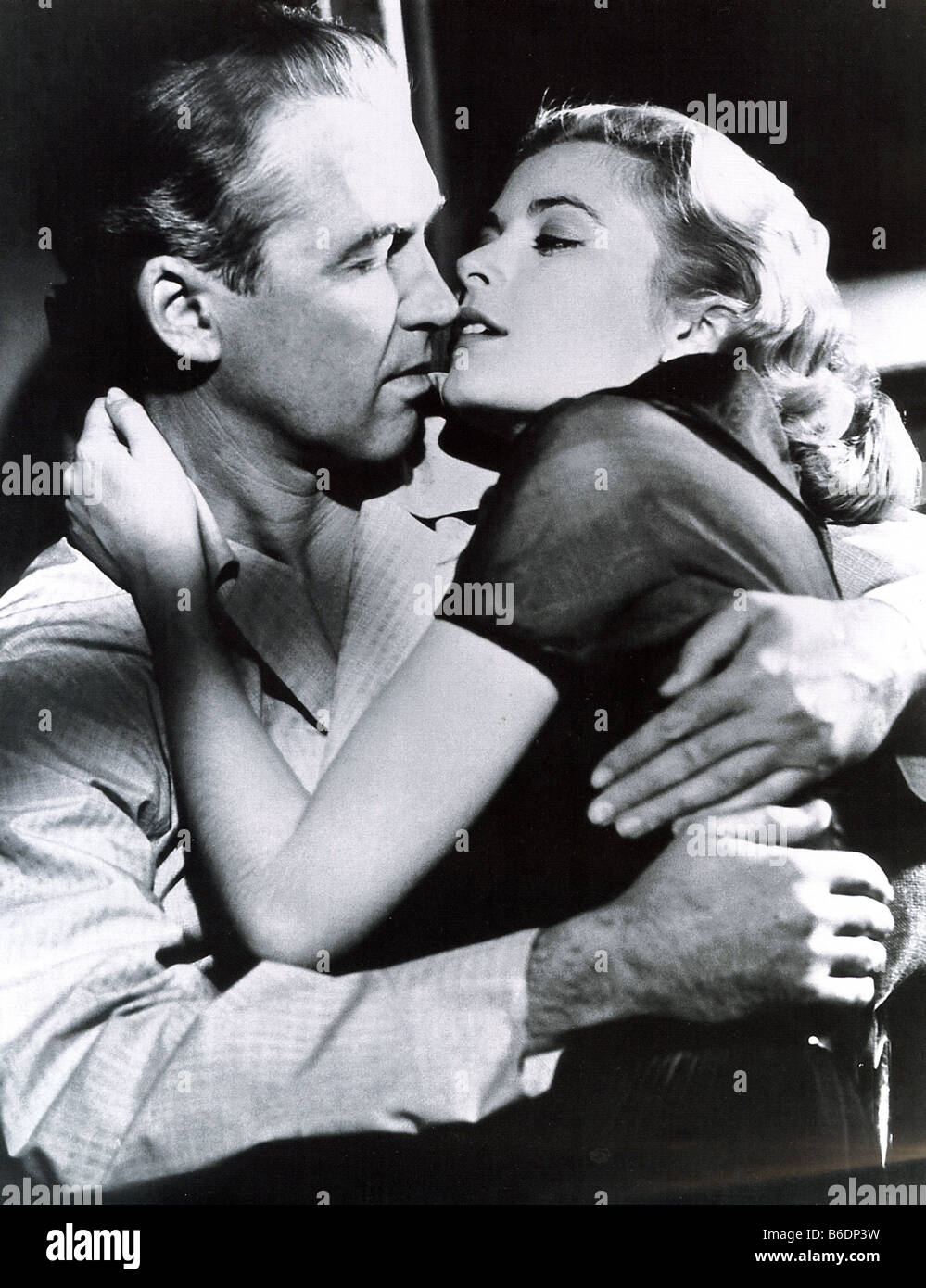 REAR WINDOW 1954 Paramount film with James Stewart and Grace Kelly - Stock Image