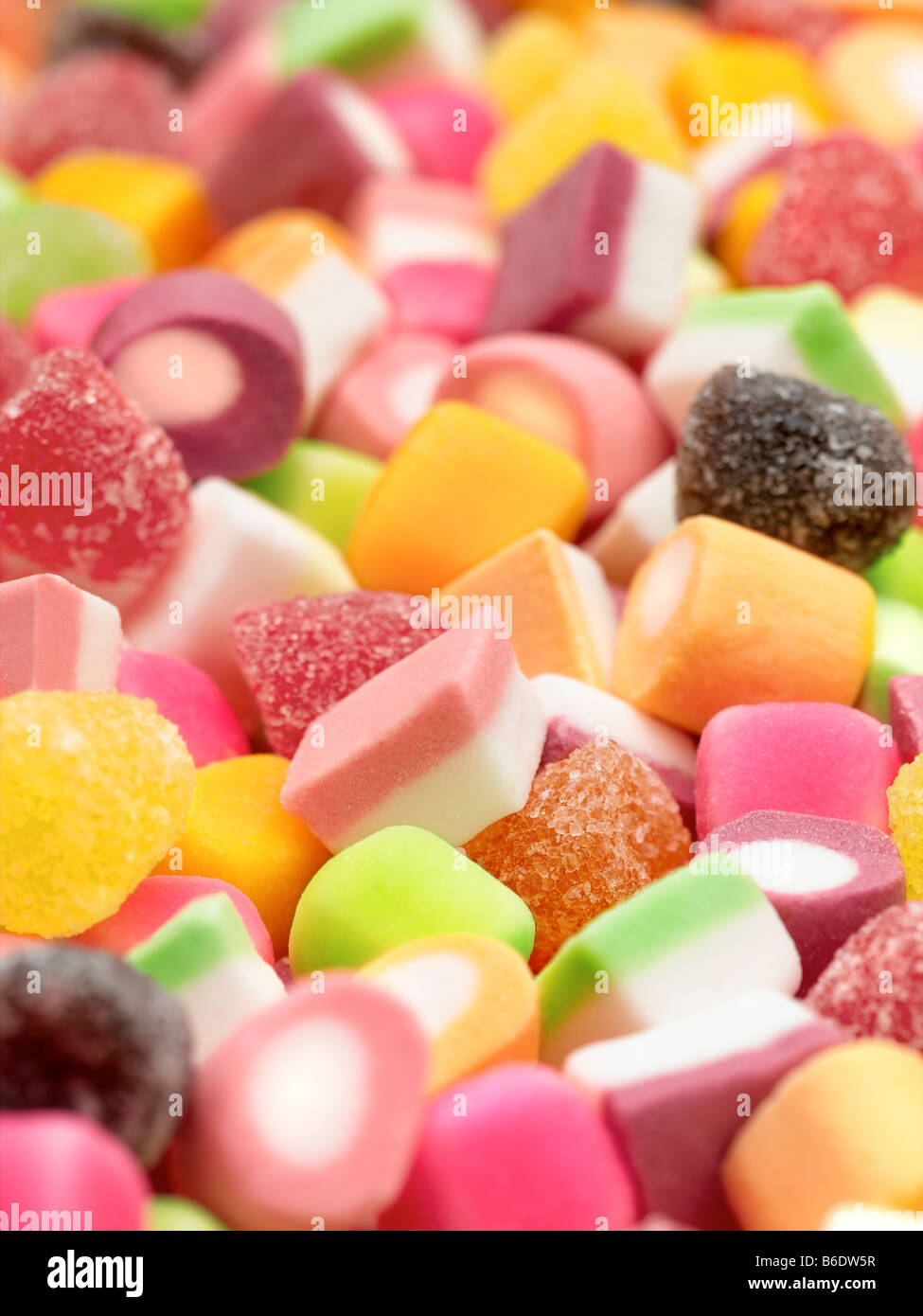 Dolly Mixtures - Stock Image