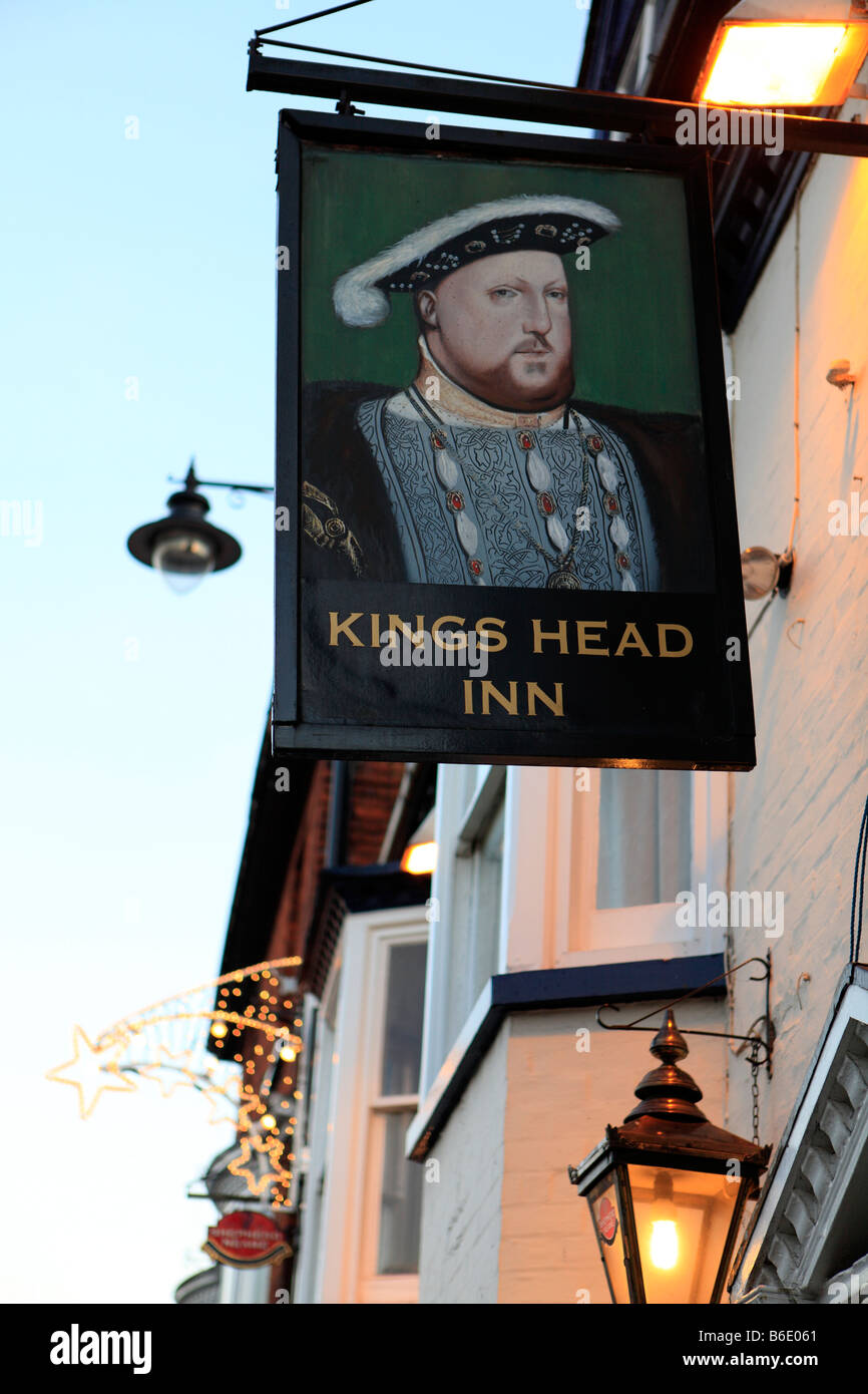 united kingdom essex rochford the kings head public house - Stock Image