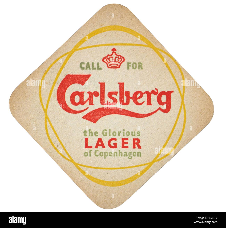 call for carlesberg the glorious larger of copenhagen - Stock Image