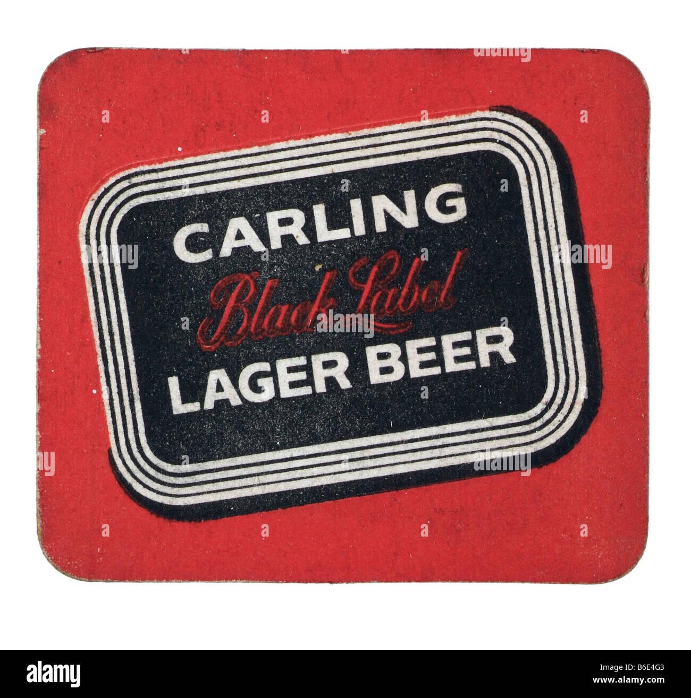 It is an image of Unusual Black Label Beer Logo