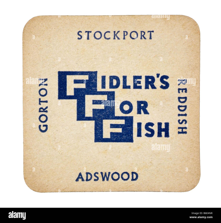 stockport fidlers for fish gorton reddish adswood - Stock Image