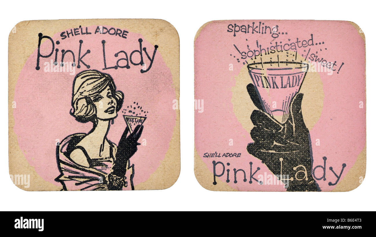 pink lady champagne perry sparkling she'll adore sophisticated sweet - Stock Image