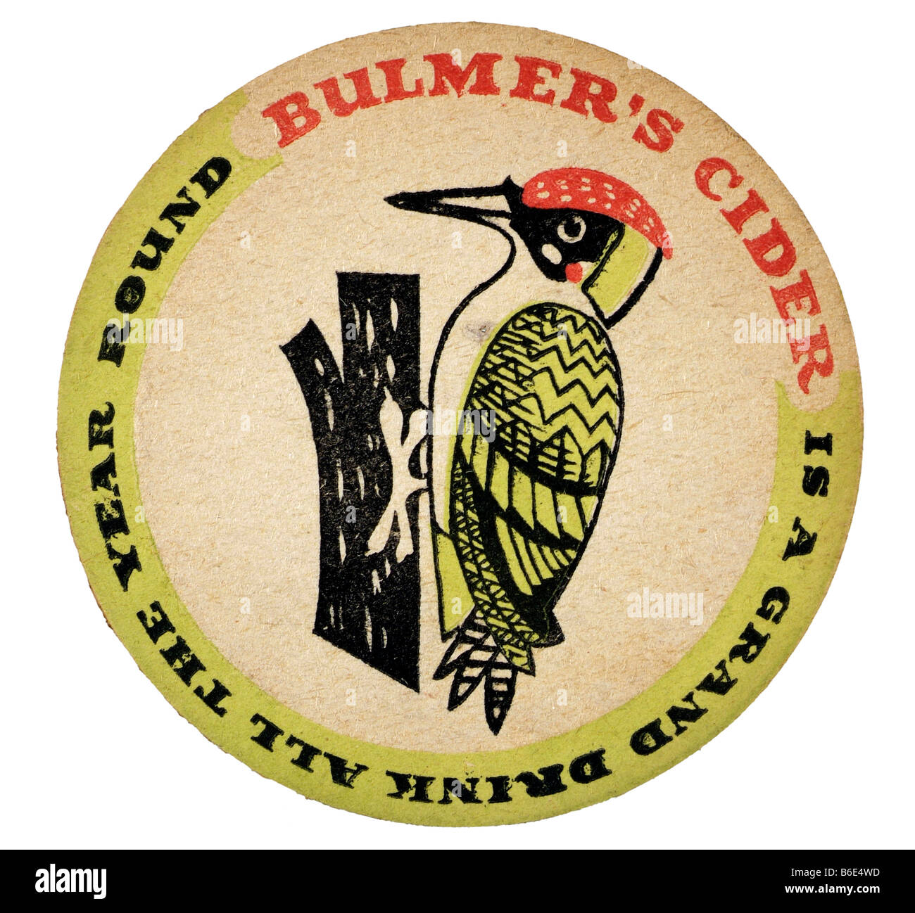 bulmers cider is a grand drink all the year round - Stock Image