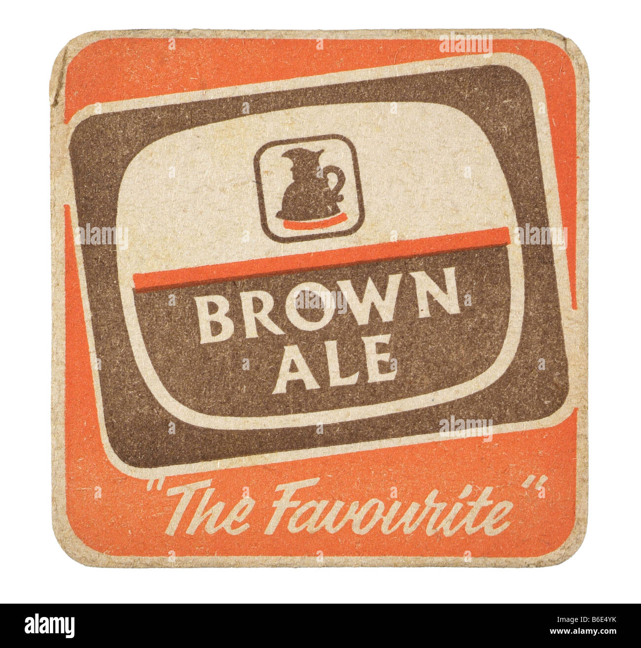 brown ale the favourite - Stock Image