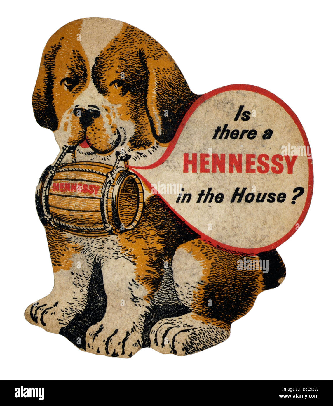 is there a hennessey in the house - Stock Image