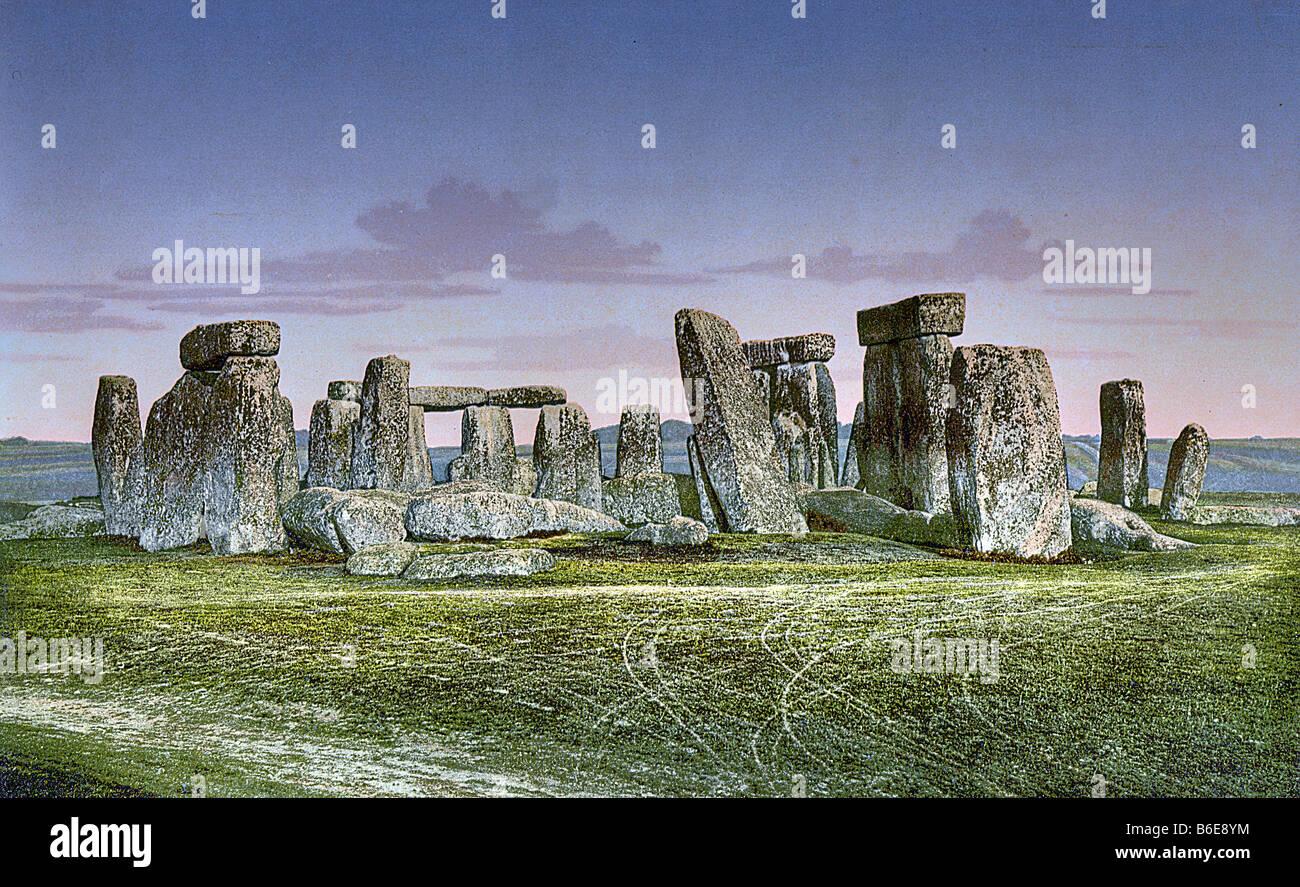 Stonehenge, Wiltshire, UK - Stock Image