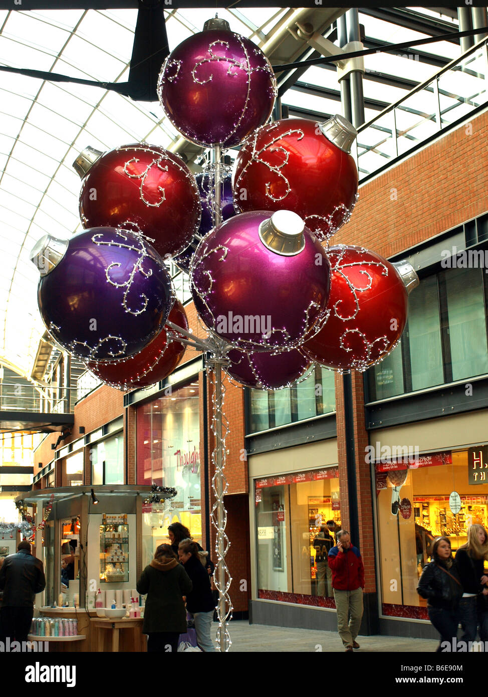 unique christmas decorations in the mall of cabot circus atriumbristoluk - Mall Of America Christmas Decorations