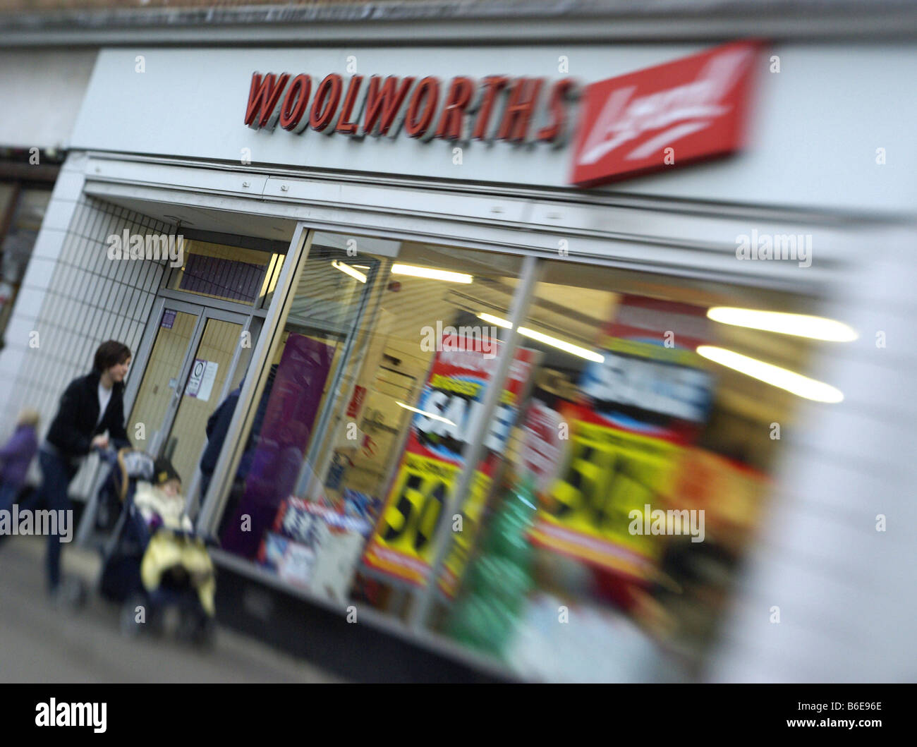 Woolworths, Woolies, High St, Retail, Closure,Dec 2008 - Stock Image
