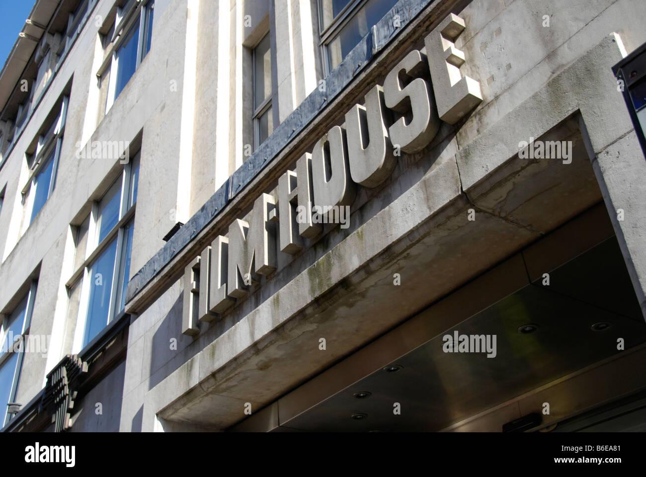 Film House in Wardour Street London England - Stock Image