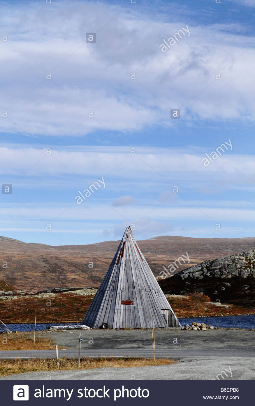 Lap cot on the mountain - Stock Image