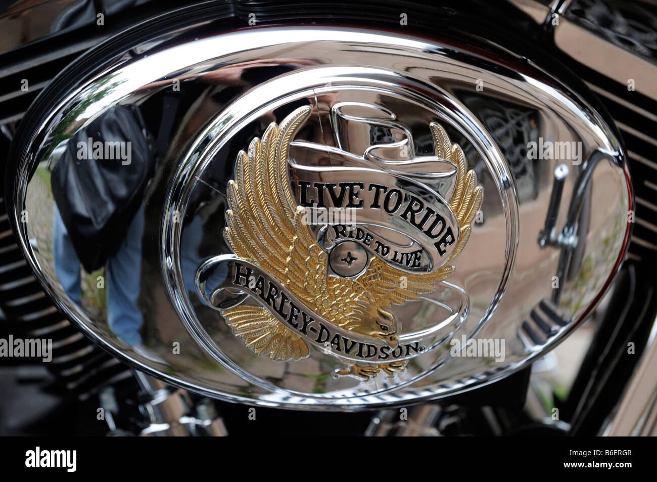 motorbike emblem stock photos motorbike emblem stock images alamy. Black Bedroom Furniture Sets. Home Design Ideas