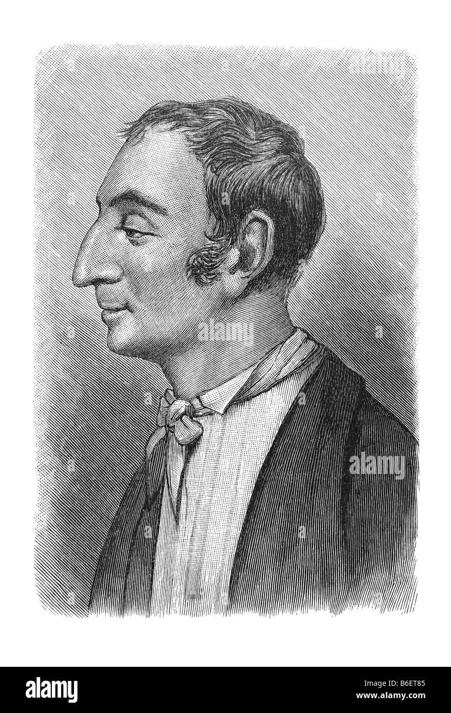 Henri de Saint-Simon, Claude-Henri de Rouvroy, Comte de Saint-Simon, 17. October 1760 Paris - 19. May 1825 Paris - Stock Image