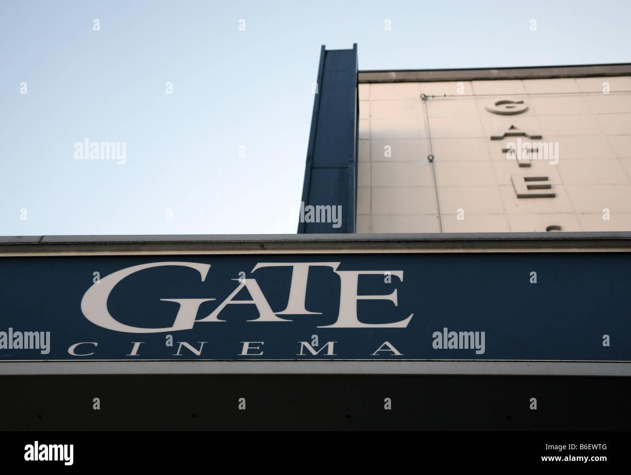 Gate cinema Notting Hill Gate, London - Stock Image