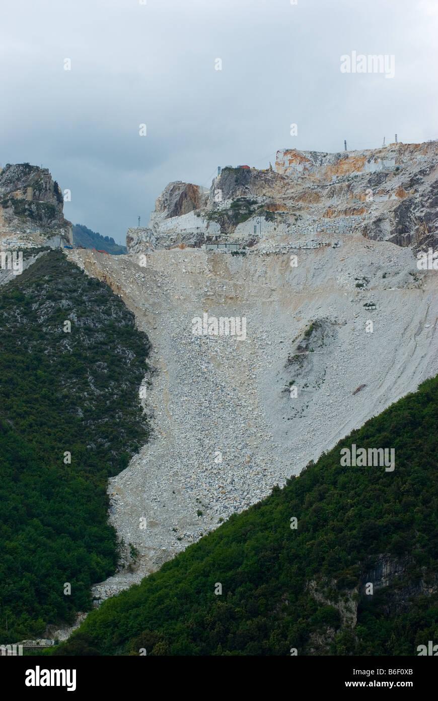 Carrara, Tuscany, Italy, Europe - Stock Image