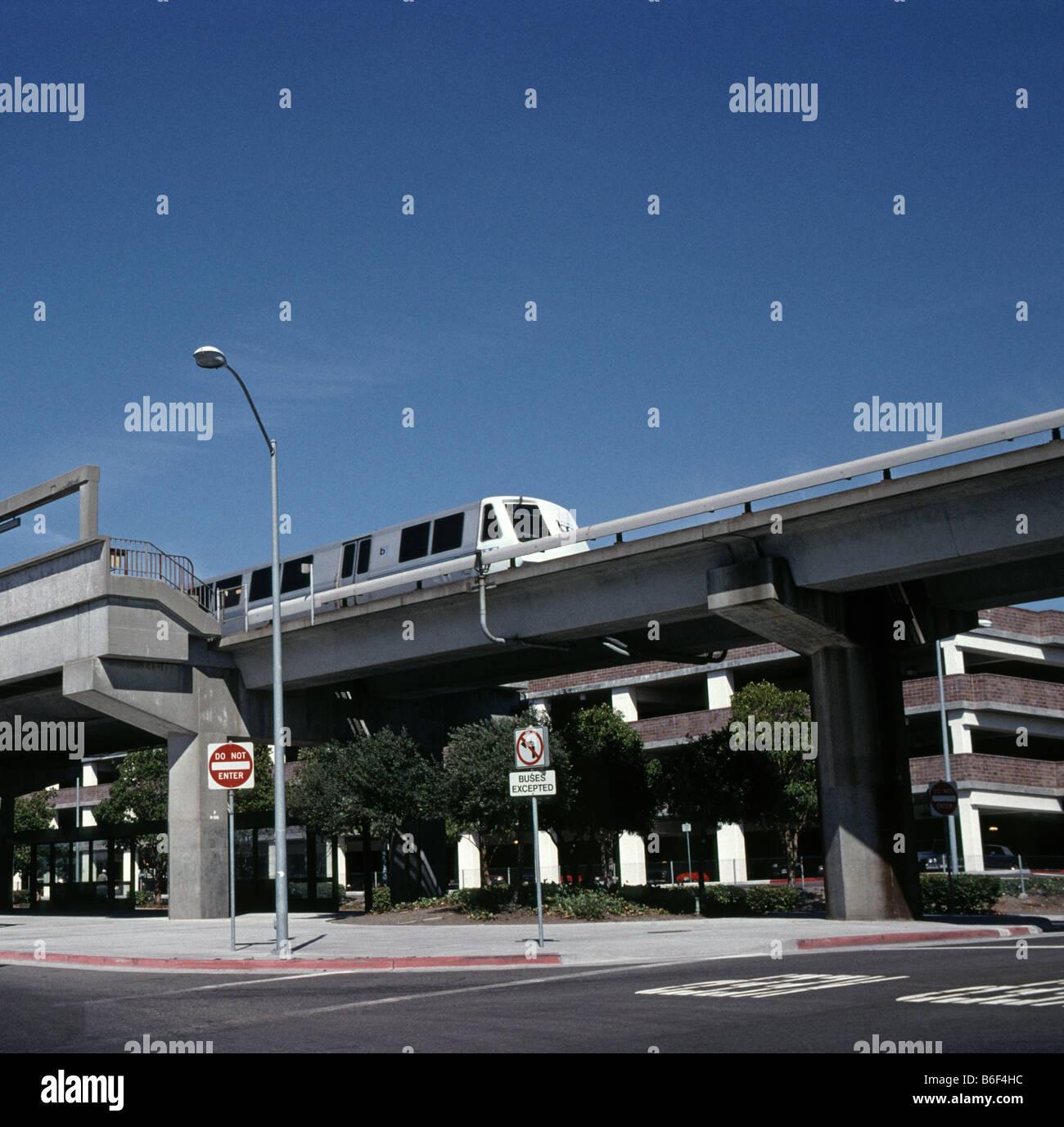 BART Bay Area Rapid Transit San Francisco Bay area California USA - Stock Image
