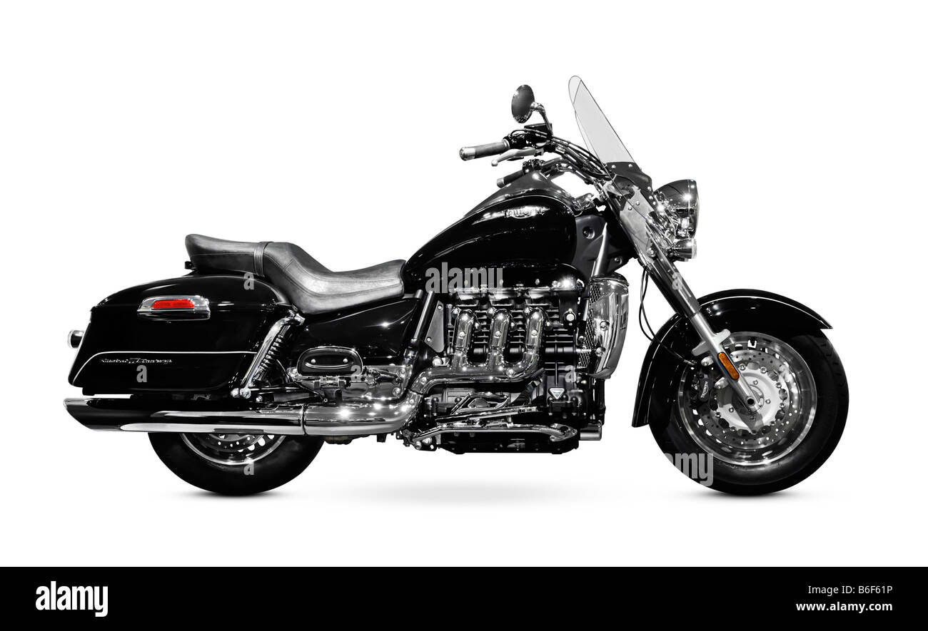 Triumph Rocket III Touring motorcycle - Stock Image