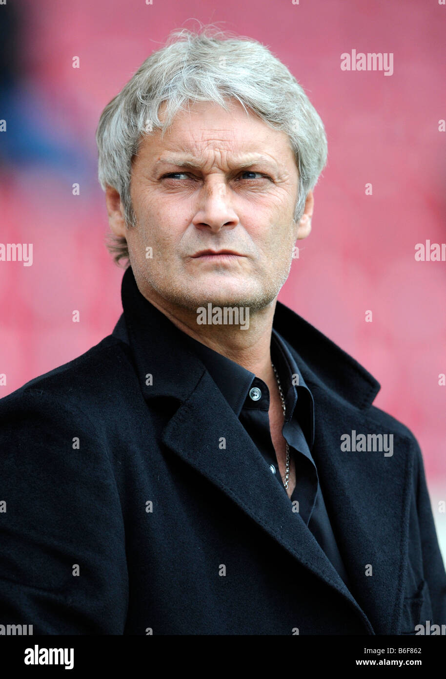 Trainer Armin Veh, VfB Stuttgart football club - Stock Image