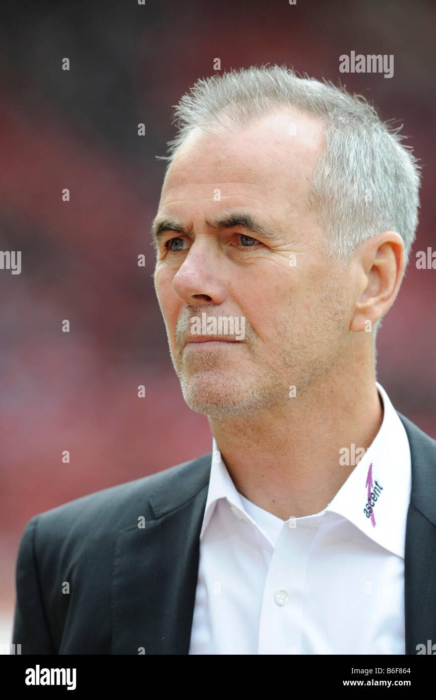 Manager Rolf Dohmen, Karlsruher SC football club - Stock Image