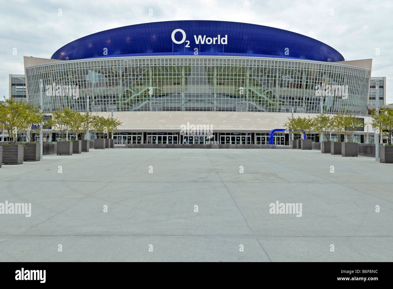 O2 World, Berlin, Germany, Europe - Stock Image