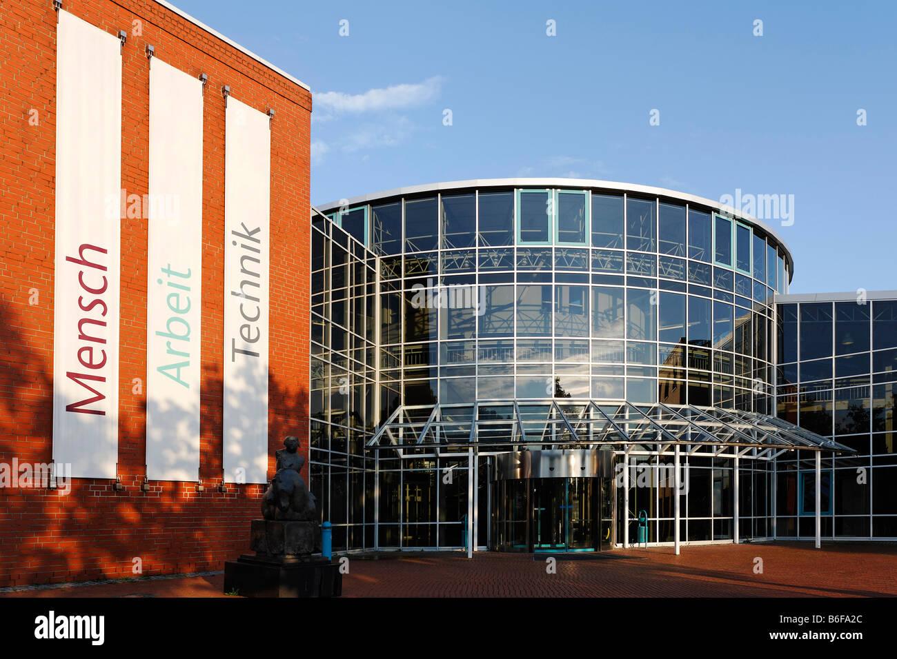 DASA building, Deutsche Arbeitsschutzausstellung or German Employment Protection Exhibition, Dortmund, North Rhine Stock Photo
